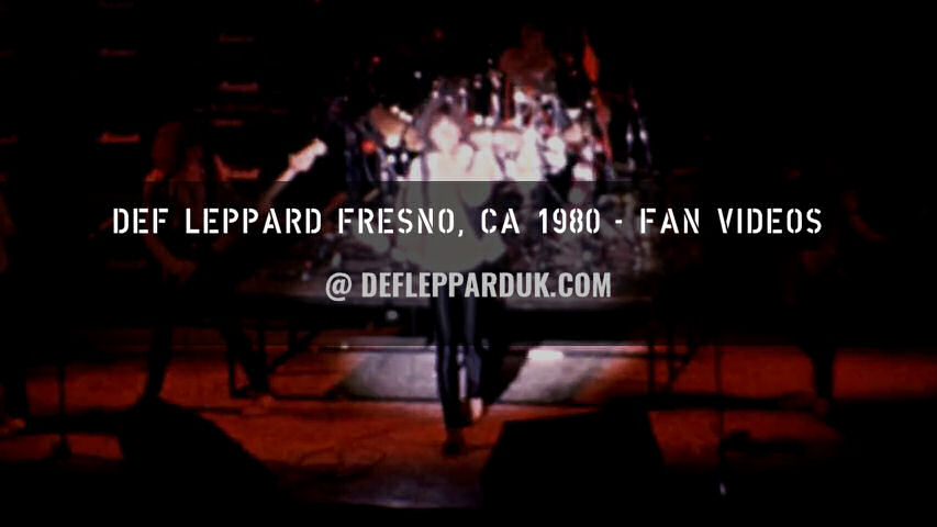 Def Leppard Fan Videos 1980.