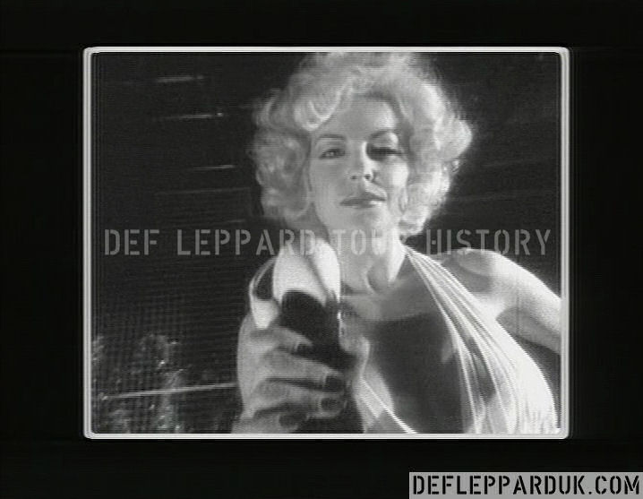 Def Leppard News - 36 Years Ago DEF LEPPARD Film PHOTOGRAPH