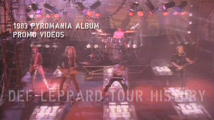 Def Leppard Pyromania Album Videos.