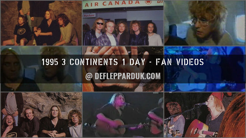 Def Leppard 1995 Fan Videos.