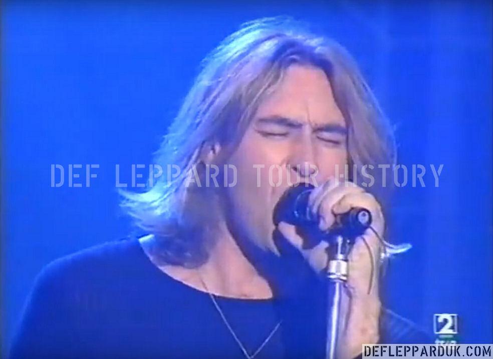 Def Leppard News - Watch Rare Def Leppard Performance On Spanish TV