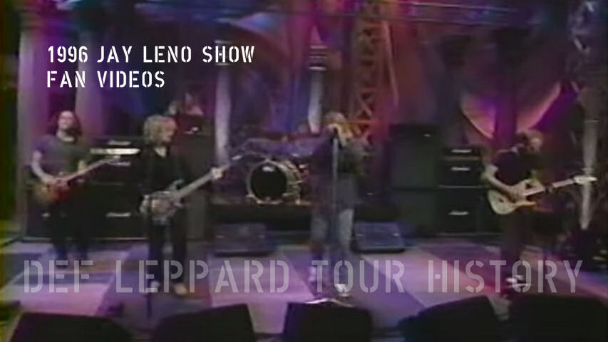 Def Leppard Fan Videos 1996.