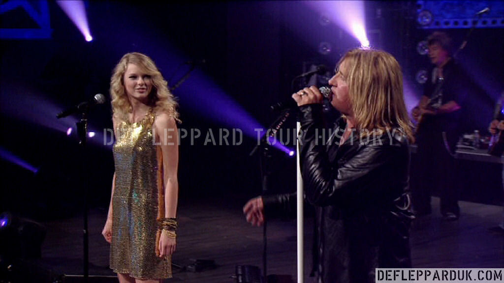 Def Leppard History 6th October 2008 Cmt Crossroads W Taylor Swift
