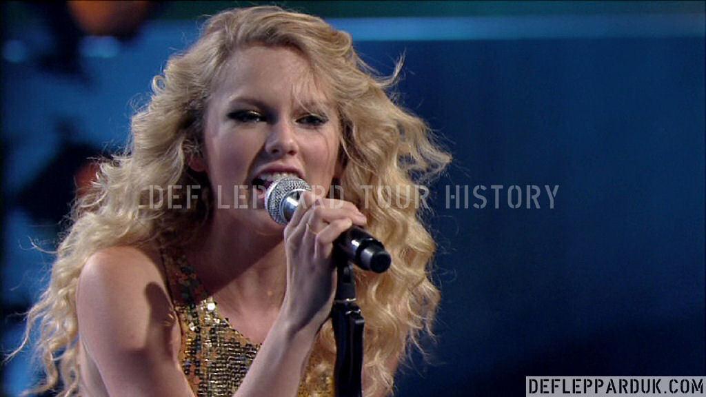 Def Leppard History 6th October 2008 Cmt Crossroads W Taylor Swift