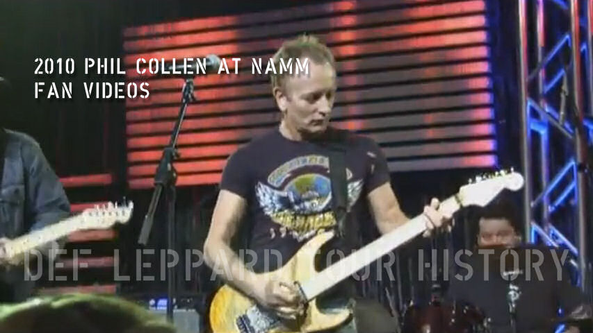 Phil Collen Fan Videos 2010.