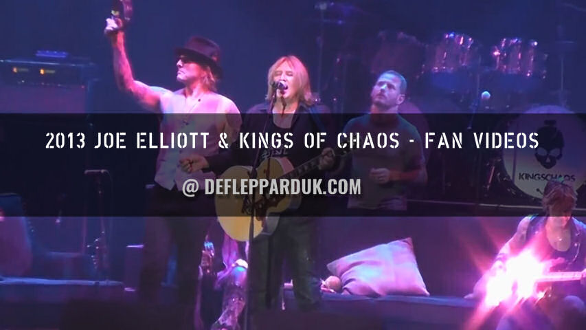 Kings Of Chaos Fan Videos 2013.