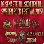 Sweden Rock Festival Headline Show Announced For June 2015.