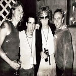 Rare Def Leppard/Ian Hunter Wantagh, NY 2000 Backstage Photo.