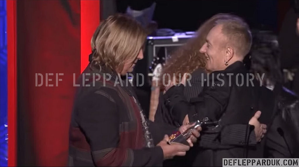 Def Leppard News - 2 Years Ago DEF LEPPARD Win Classic Rock Album Of