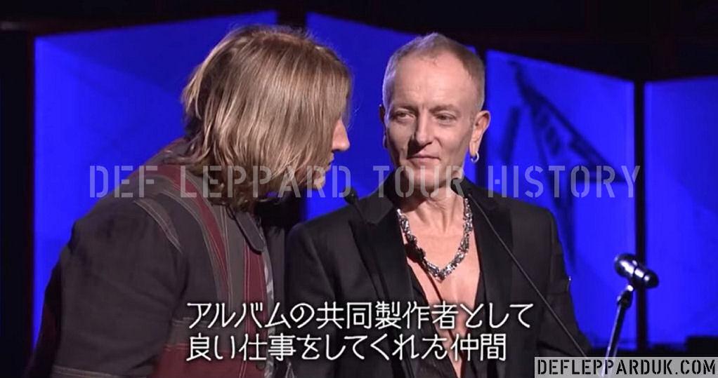 Def Leppard News - 2 Years Ago DEF LEPPARD Win Classic Rock Album Of