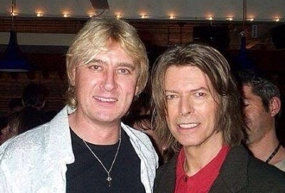 Joe Elliott/David Bowie 1999.