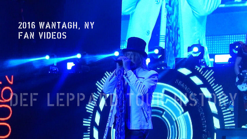 Def Leppard 2016 Wantagh, NY Fan Videos.