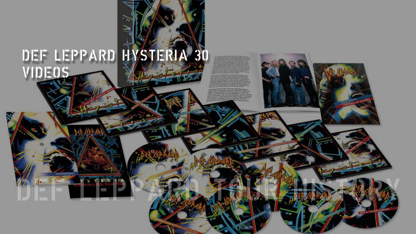 Def Leppard News Def Leppard Step Inside Hysteria At 30