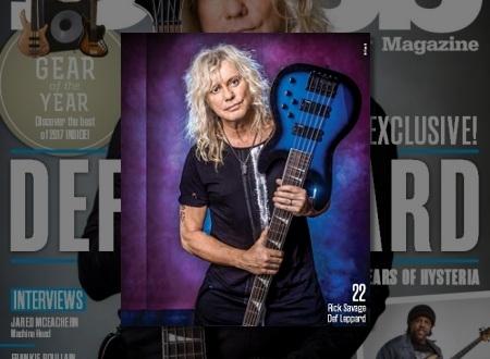 Def Leppard News - DEF LEPPARD's RICK SAVAGE HYSTERIA Bass