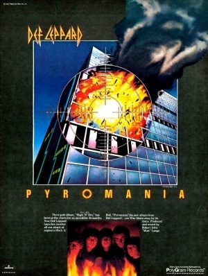 70f09ad53f Def Leppard News - The Story Of Def Leppard s PYROMANIA Album ...