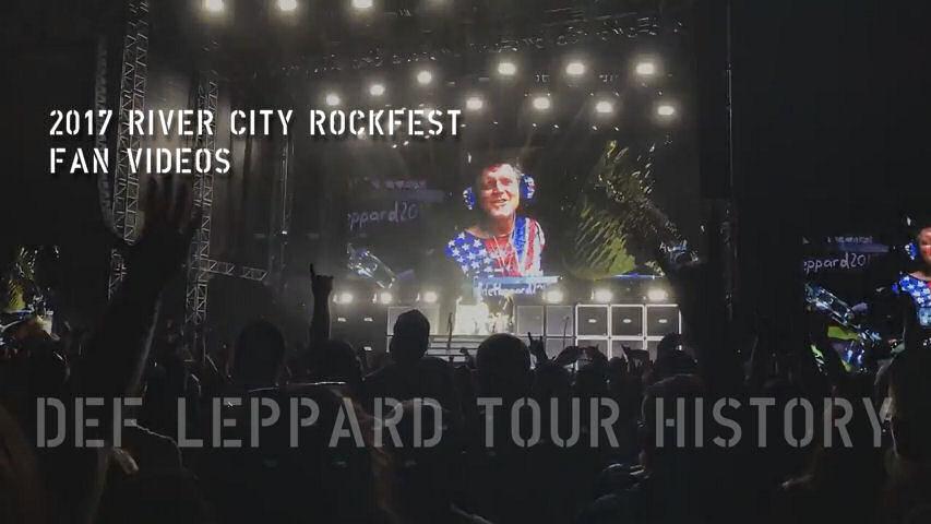 Def Leppard News Def Leppard 2017 Tour River City