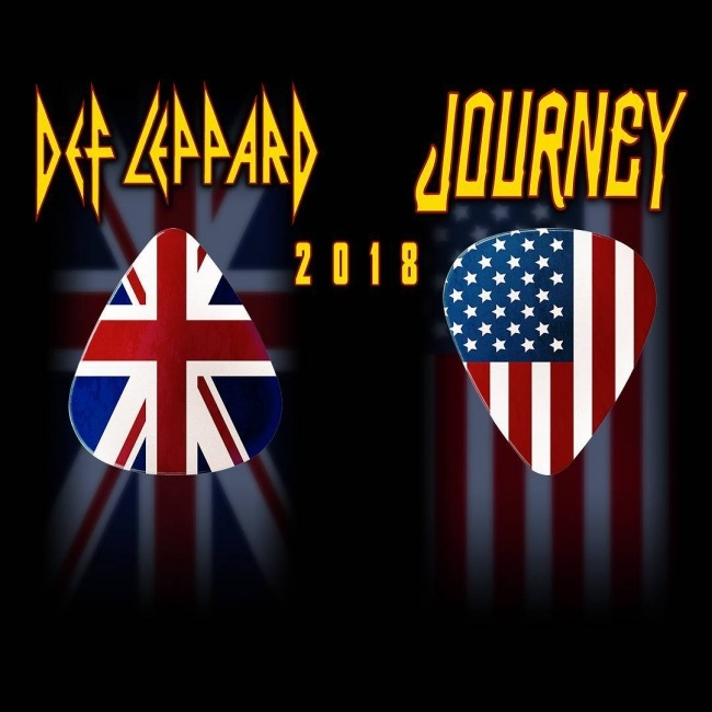 Def Leppard World Tour 2018.