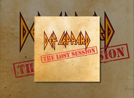 Def Leppard News - DEF LEPPARD's Lost Session Live EP/Studio
