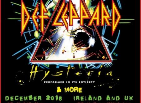 Image result for def leppard 2018 uk tour