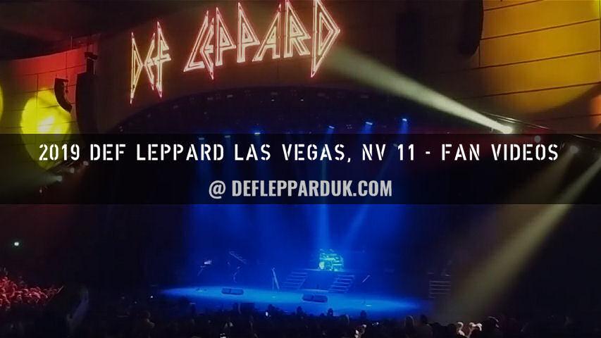Def Leppard News - DEF LEPPARD Film Sin City Residency DVD