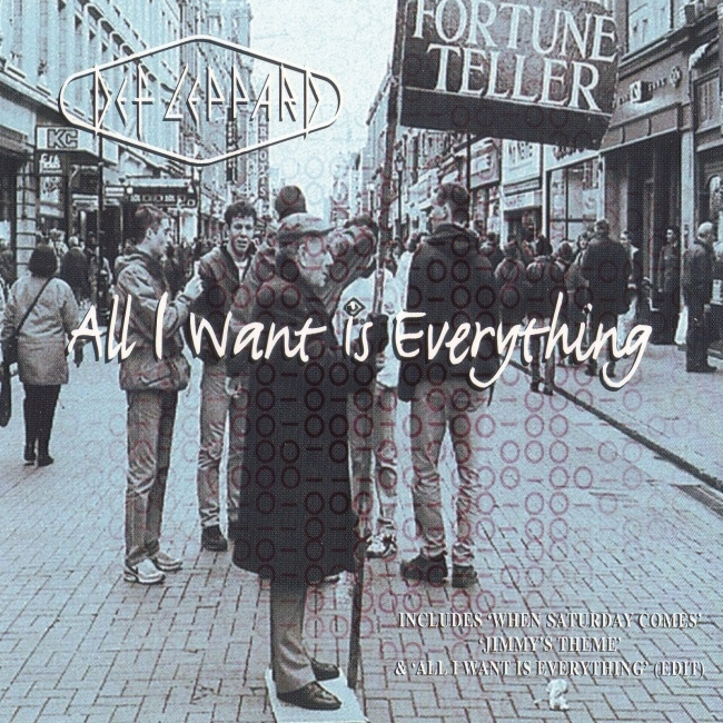 All I Want Is Everything 1996.
