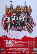 Def Leppard Mirrorball Tour UK.