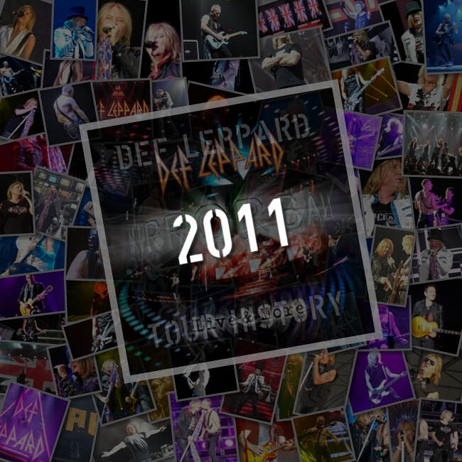 Def Leppard Mirrorball World Tour 2011.