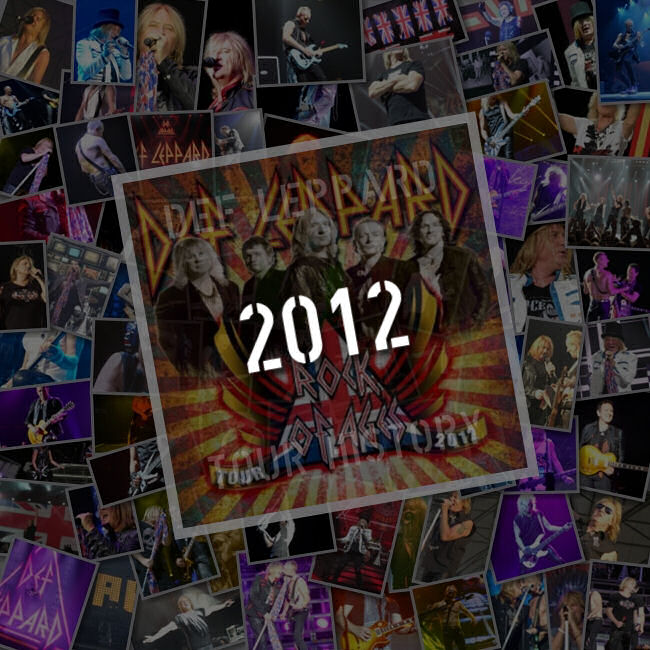 Songs Played 2012