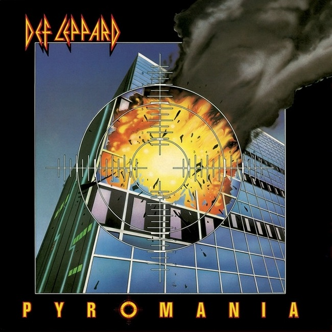 Pyromania World Tour 1983/1984.